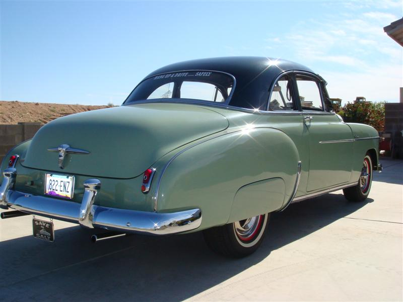 1950 Chevy Styleline Sport Coupe